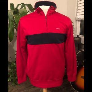 IZOD medium quarter-zip pullover